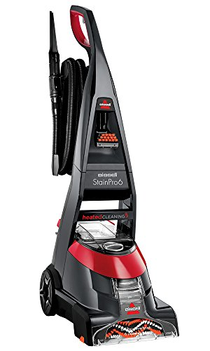 BISSELL Stain Pro 6   Carpet Cleaner With HeatWave Technology and 6 Rows Of Rotating Brushes   20096