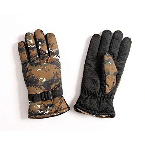 guantes Winter Warme Sporthandschuhe Anzug Kaschmir Herren Tarnung Kalt Und Winddicht Weiche Komfortable Handschuhe Freizeit Outdoor