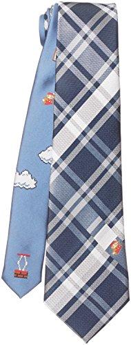 personagem de negócios Mario Tie da Florencepec Super Mario Bros: Azul Marinho 4