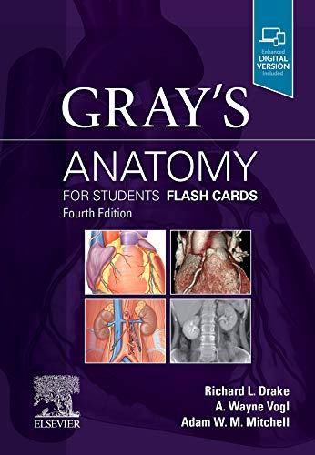 Gray's Anatomy for Students Flash Cards