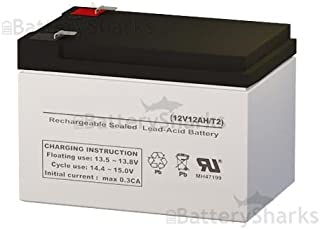 SW12120 12 Volt 12 AmpH SLA Replacement Battery with F2 Terminal