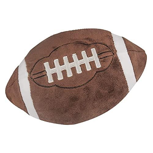 xinyawl Peluche Pelotas de fútbol de Peluche Mullido Relleno de Baloncesto Polla de Peluche Suave Peluche Rugby Relleno Toy Stuff Soccerball Regalo para niños Bebé (Color : Rugby)