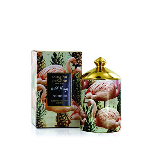 Ashleigh & Burwood Wild Things Luxury Scented Candle 320g - Pinemingos - Coconut & Lychee