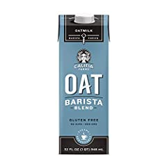 Our popular Oat milk barista blend - Steams beautifully, perfectly pairs with coffee and tastes delicious by itself. Milk or Creamer you choose Made from North American grown whole rolled, gluten free oats Unsweetened No gums or stabilizers Nut free,...