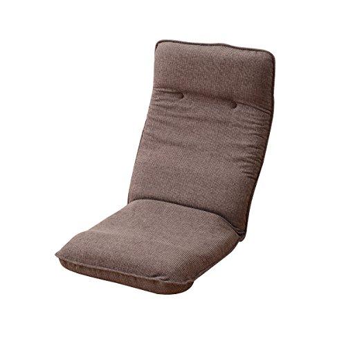 山善(YAMAZEN) リクライニング ハイバック 座椅子 ダークブラウン ITV-50(DBR)