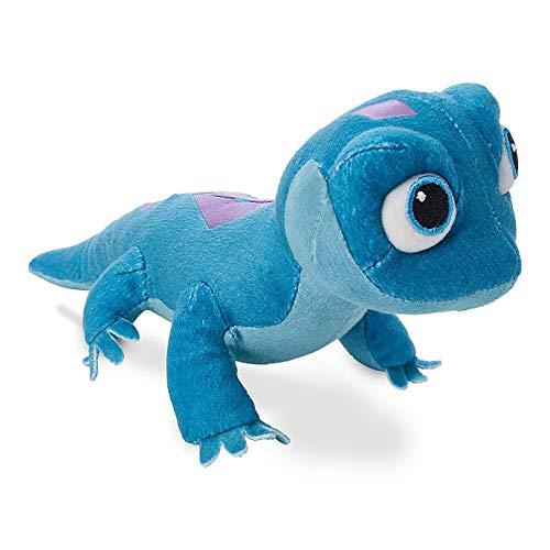 ZYBB Bruni Salamander Film Charakter Plüsch Gefüllte Tier, Feuer Eidechse Salamander Plüsch Gefülltspielzeug Kleine Kinder Süße Tier Valentine Geschenk Blau