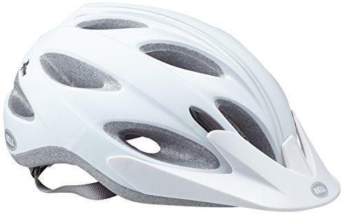 BELL Piston - Casco para Bicicleta de Paseo, Color Blanco