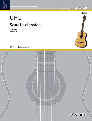 Sonata classica: Gitarre. (Edition Schott)