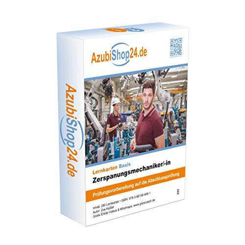 Lernkarten Zerspanungsmechaniker /in Lernkarten Prüfungsvorbereitung: Lernkarten Zerspanungsmechaniker /in Prüfungsvorbereitung