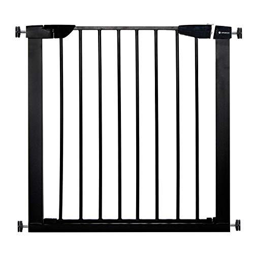 SPRINGOS - Barriera di sicurezza per bambini, cancelletto di protezione per le scale, 75-82 cm