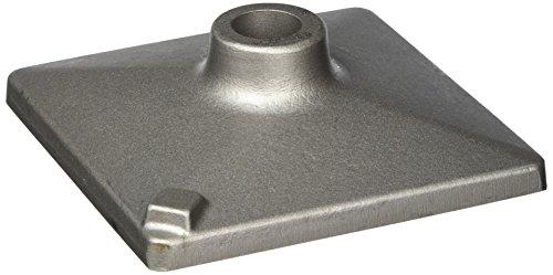 Bosch 1 618 633 102 - Placa pisón, 150 x 150 mm, pack de 1
