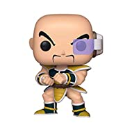 From Dragon Ball Z, Nappa, as a stylized POP vinyl from Funko Stylized collectable stands 3 ¾ inches tall, perfect for any Dragon Ball Z fan Collect and display all Dragon Ball Z POP Vinyl's Funko POP is the 2018 Toy of the Year and People's Choice a...