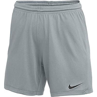 Nike Womens Park III Shorts Grey S