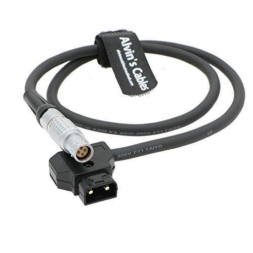 Alvin's Cables 4 Pin FGK Buchse auf D-Tap Stromkabel für Canon Mark II C100 C500 60CM