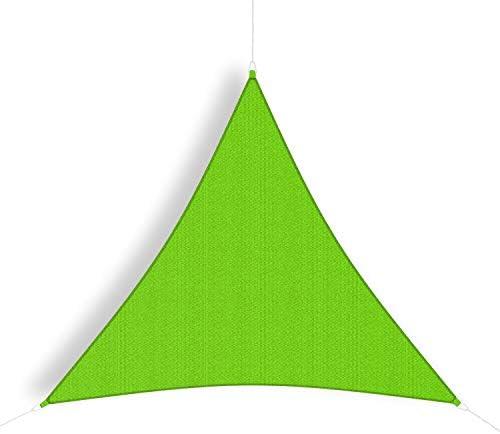 Coolaroo Shade Sail Triangle Party Sail 9 10 Green product image