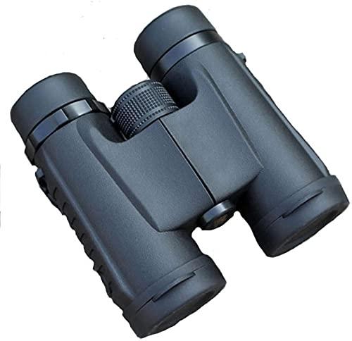 Binoculares 10x32 Binocular Compacto Binocular portátil de Alta Potencia con luz Clara débil para Adultos Niños para observación de Aves Viajes Observación de Estrellas Conciertos Deportes