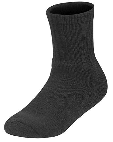 Woolpower Kinder Merinowollsocken Classic 200, Farbe:schwarz, Socken:19-21