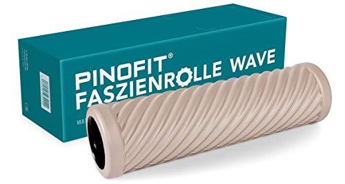 PINOFIT extralange Faszienrolle Wave Warm Grey - 43131