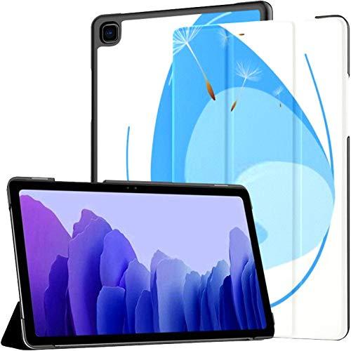 Samsung A7 Tablet Case Liquid Sky Dandelions Seeds Concept Copy Case para Samsung Galaxy Tab A7 10.4 Inch 2020 Release Funda Protectora Funda Samsung Galaxy A7 Funda Tablet Funda de Cuero PU