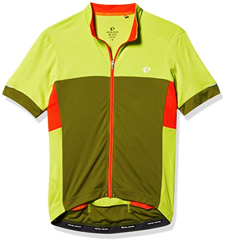 PEARL IZUMI Elite Escape Jersey para Hombre, Ride Elite Escape - Camiseta de Manga Corta para Hombre, Hombre, Color Citron/Aguacate, tamaño Small