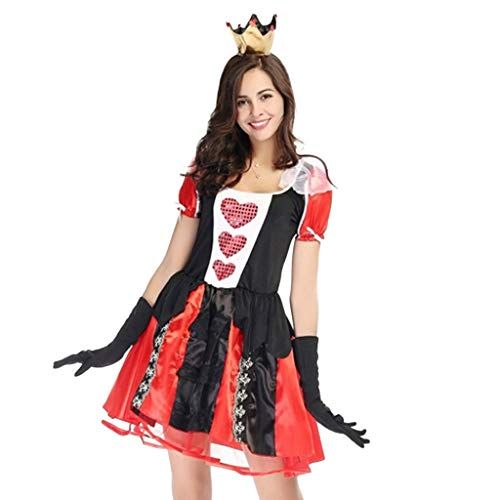 Goddessvan 2019 Women's Clothing Sexy Dress Suit Cosplay Halloween Costume Clothes Festival Red