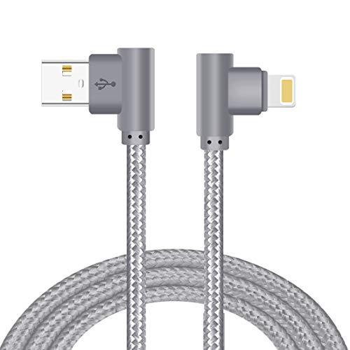 Lively Life Blitz Kabel [90 Grad rechtwinklig] Ladekabel Datenkabel für iOS iPhone 7 Plus 7 6S Plus 6 Plus SE 5S 5C 5 iPad 2 3 4 Mini iPad Pro Air iPod...