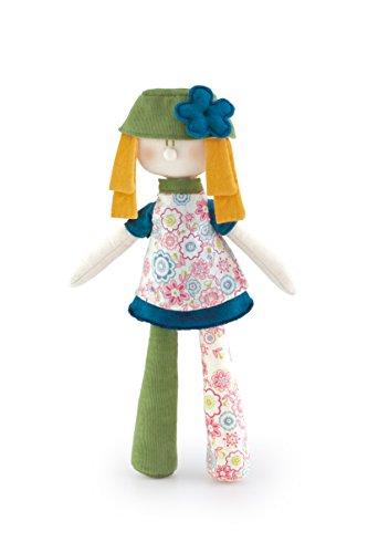 Trudi - 19428 - Peluche De Chiffon - Forest Angels - Étoffe - Blonde Fleur - 33 Cm