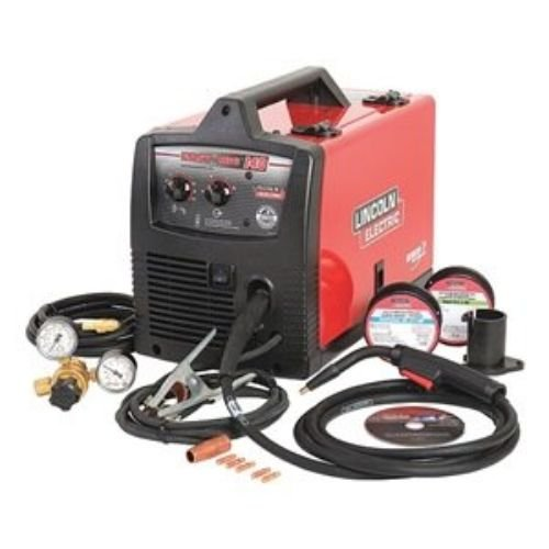 LINCOLN ELECTRIC CO K2697-1 Easy MIG 140 Wire Feed Welder,