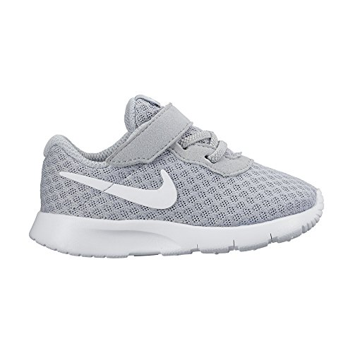 Nike Unisex Baby Tanjun (TD) Sneaker, Grau (Wolf Grey/White/White 012), 17 EU