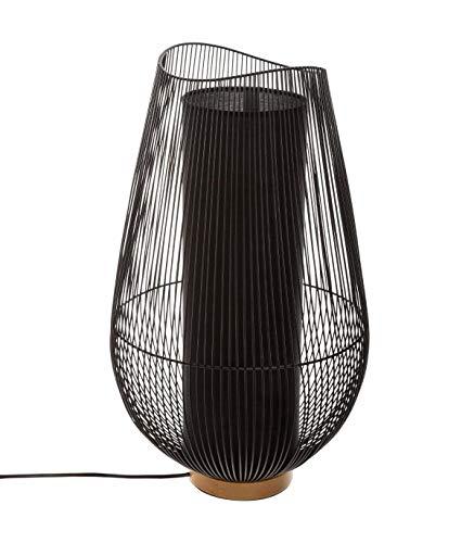 Atmosphera - Grande Lampe à Poser en métal Filaire H 59.5 cm Keta