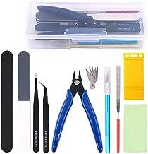 Rustark 10Pcs Model Tools Craft Set Modeler Building Kit for Gundam Basic Model Assembling, Building and Repairing