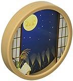 02 和風窓(月見) マルキャラフレーム