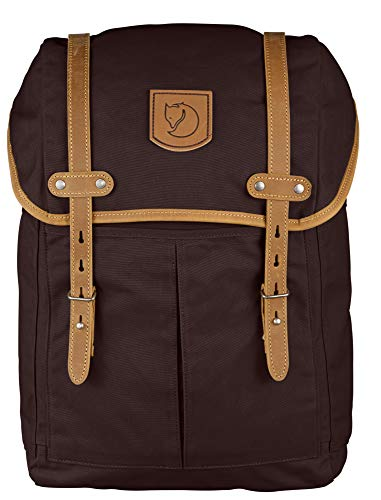 FJÄLLRÄVEN Rucksack No.21 Medium, Sacs à Dos Mixte Adulte, Marron (Hickory Brown), 24x36x45 cm (W x H L)