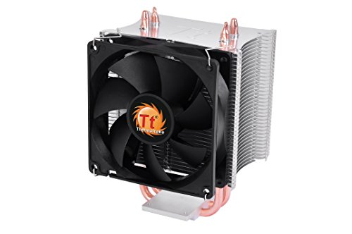 Thermaltake Contac 16 Universal CPU Cooler Direct-Touch Heat Transfer 100W TDP with Dual 92mm Fans Dual 6mm Heatpipes CLP0598