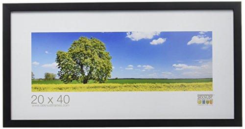 Deknudt Frames, Cornice per Foto, Nero (Schwarz), 20 x 40 cm