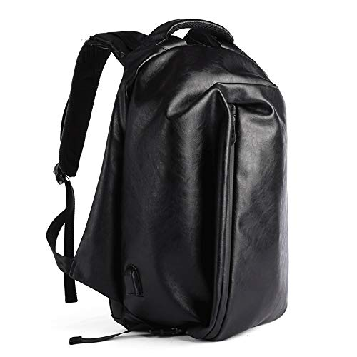 coxxlloo backpack for men Anti-theft Waterproof Polyester Satchel With USB Charging Port For 15-inch Laptops And Laptops, Travel Laptop Backpacks, College Bags Unisex