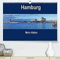 Hamburg - Mein Hafen (Premium, hochwertiger DIN A2 Wandkalender 2022, Kunstdruck in Hochglanz): Schoene An-und Aussichten aus der Hafenstadt Hamburg (Monatskalender, 14 Seiten )