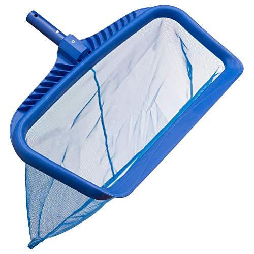 EXPAWLORER Pool Leaf Skimmer Net Rake  Swimming Pool Cleaning Tool with HeavyDuty Frames amp Sturdy Mesh Nets