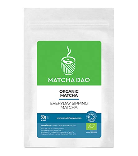 Organic Everyday Sipping Matcha 30G | Drinking Matcha | Natural & Healthy Green Tea