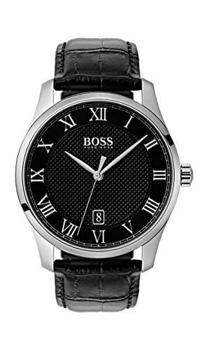 Hugo BOSS Reloj Analógico para Hombre de Cuarzo con Correa en Cuero 1513585