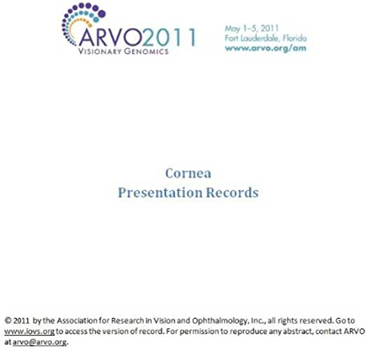 ARVO 2011 Annual Meeting - Section CO (English Edition)