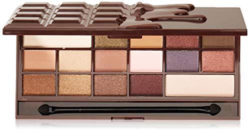 Makeup Revolution I Heart Makeup Eyeshadow Palette I Heart Chocolate, 22 g