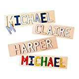 South Bend Woodworks Kids Personalized Wooden Name Puzzle...