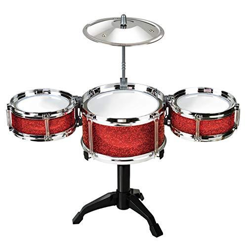 Desktop Drum Set ET7701 - Instrumento de percusión para niños (Funtime...