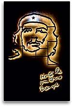 Premium - Lienzo textil (50 cm x 75 cm de alto, Ché Guevara en el lugar de la República de cuadro sobre bastidor, imagen sobre lienzo auténtico, impresión sobre lienzo (Calvendo Orte);Calvendo Orte