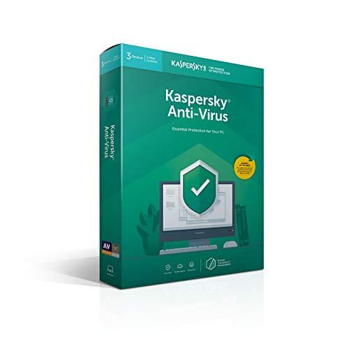 Kaspersky Anti-Virus | 3 Geräte | 1 Jahr | Deutsch | installierbar in allen europäischen sprachen | Box | 2019|Standard|3 Geräte|1 Jahr|PC|Download|Download