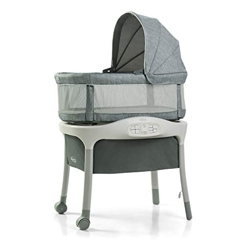 Graco Move 'n Soothe Bassinet | Baby Bassinet with Movement,...