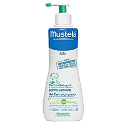 Mustela Gentle Cleansing Gel, Baby Hair & Body Wash, Plant-Based Formula with Natural Avocado Perseose fortified with Vitamin B5