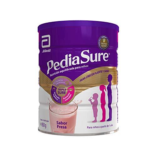 PediaSure Complemento Alimenticio para Niños, Sabor Fresa, con Proteínas, Vitaminas y Minerales -...