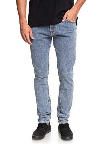 Quiksilver Distorsion Zout Water - Slim Fit Jeans voor Heren EQYDP03385